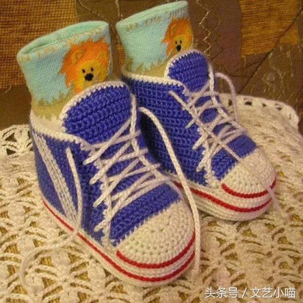 超实用的新生儿到5岁儿童的钩针鞋底图解_儿童... _编织人生论坛