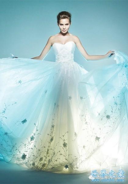 盘点世界上最漂亮的婚纱!