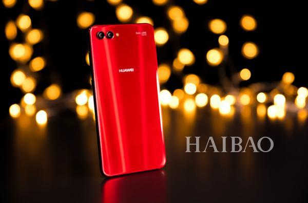 华为公司nova 3s思念红时尚潮流又时尚,价钱太良知了