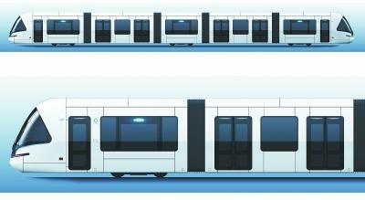 航拍光谷有轨电车T2全线路,全长19.592公里耗资31.11亿,共25站