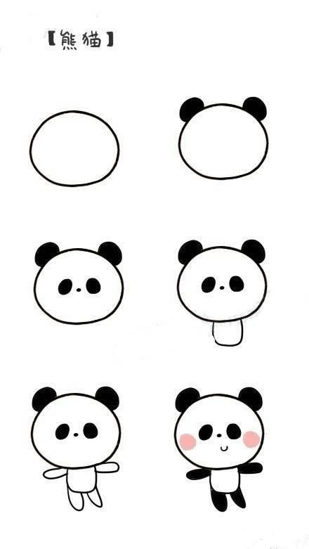 各种动物简笔画图片简单小动物