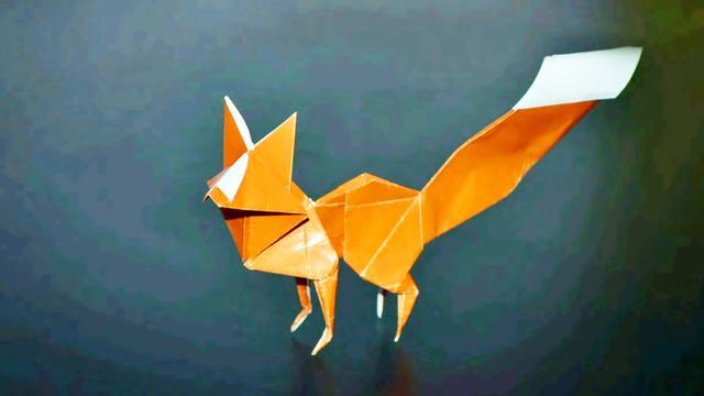 小狐狸叠法视频