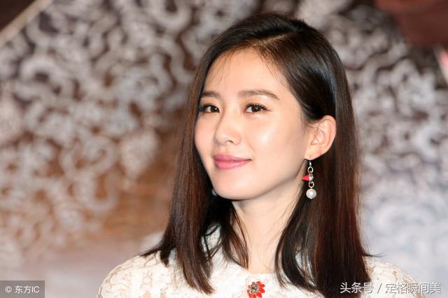 中国最漂亮女星第一名