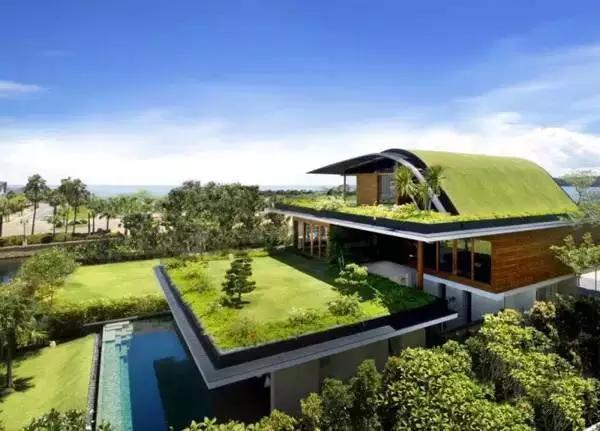这才叫做顶级屋顶花园设计