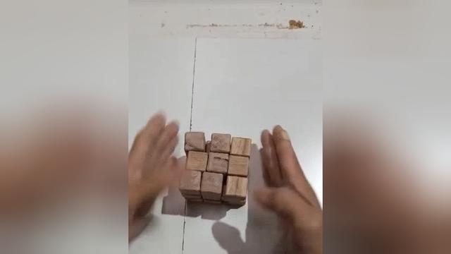 【转】一个木头魔方的制作过程 - 现代木工DIY - 中国木工爱好者
