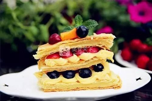 幸福烘焙別樣口感-拿破侖蛋糕