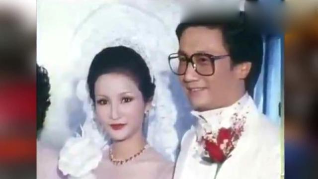 81岁谢贤昔日结婚照曝光,狄波拉美貌不输张柏芝