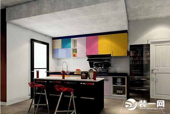 展开厨房空间让生活更轻松 开放式厨房装修效果图