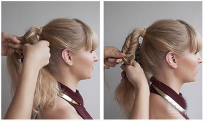 包包头发型图片女