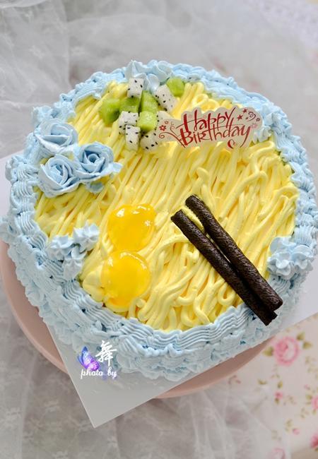 送爸爸的生日蛋糕