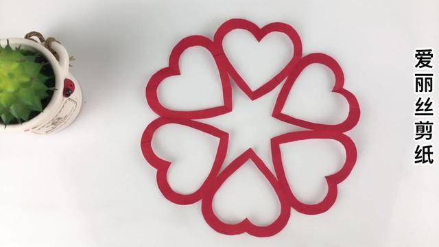 简单易学的蝴蝶窗花剪纸,学会就可以去摆摊了,儿童剪纸视频教程