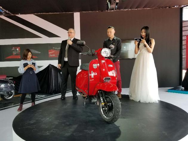 2018北京车展:Scomadi&RA复古踏板GP200上市