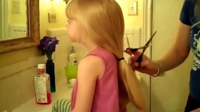 女头发少剪短发图片