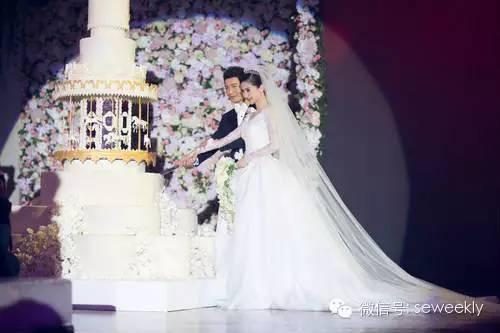 黄晓明Angelababy婚礼内场遭曝光浪漫似城堡 明星阵容... _忒有料