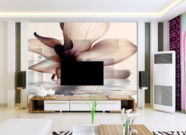 最火的200款现代简约风格客厅电视背景墙装修效果图