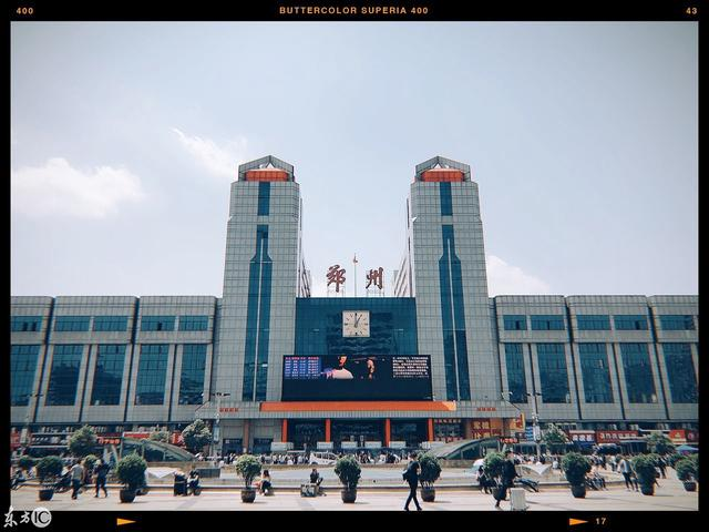 郑州火车站出口示意图