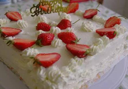 水果款生日蛋糕图片(15张)_水果图片_千千花图片网