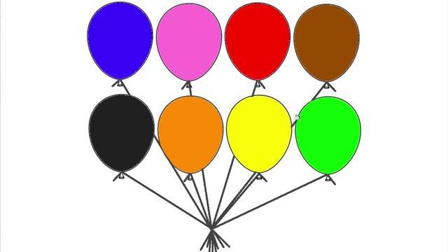 彩色的氣球
