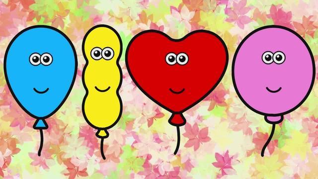 推土機運送彩色氣球