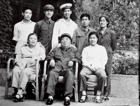 陈毅元帅精装图片彩照