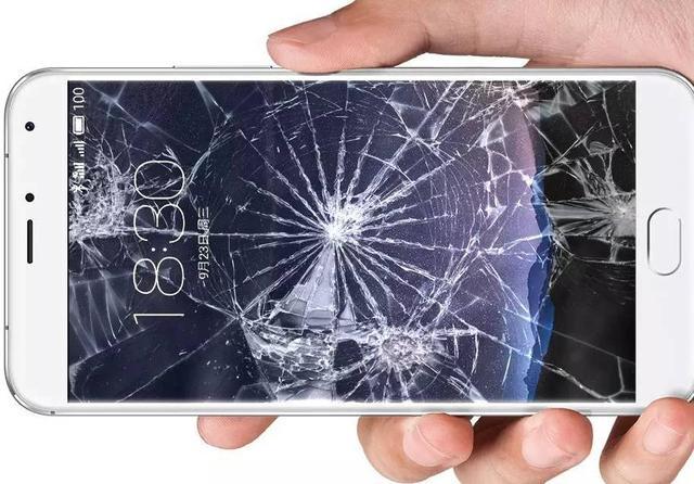 屏幕破碎素材
