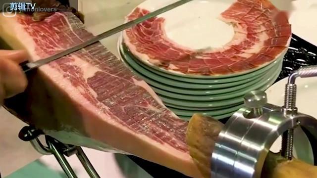 """顶级美食 西班牙火腿为何贵到堪比""""LV"""""""