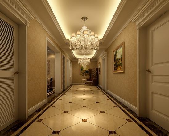 一大波过道走廊吊顶,高端大气有格调,别墅、复式楼装修别错过