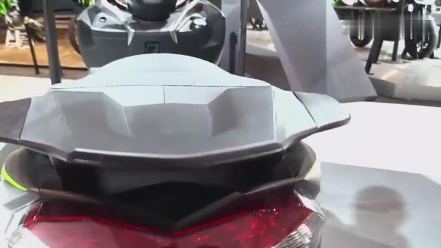 """口水""""流""""一地!2018 川崎Kawasaki J300 精品踏板摩托车"""
