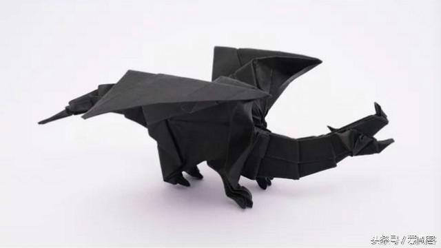 折纸教程: 龙系列(8)-大神教你折一只喷火龙