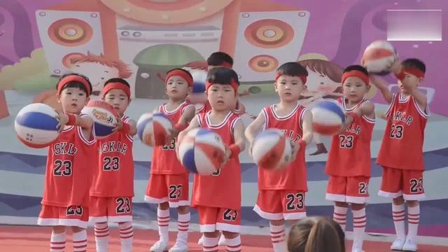 幼儿园篮球宝贝音乐