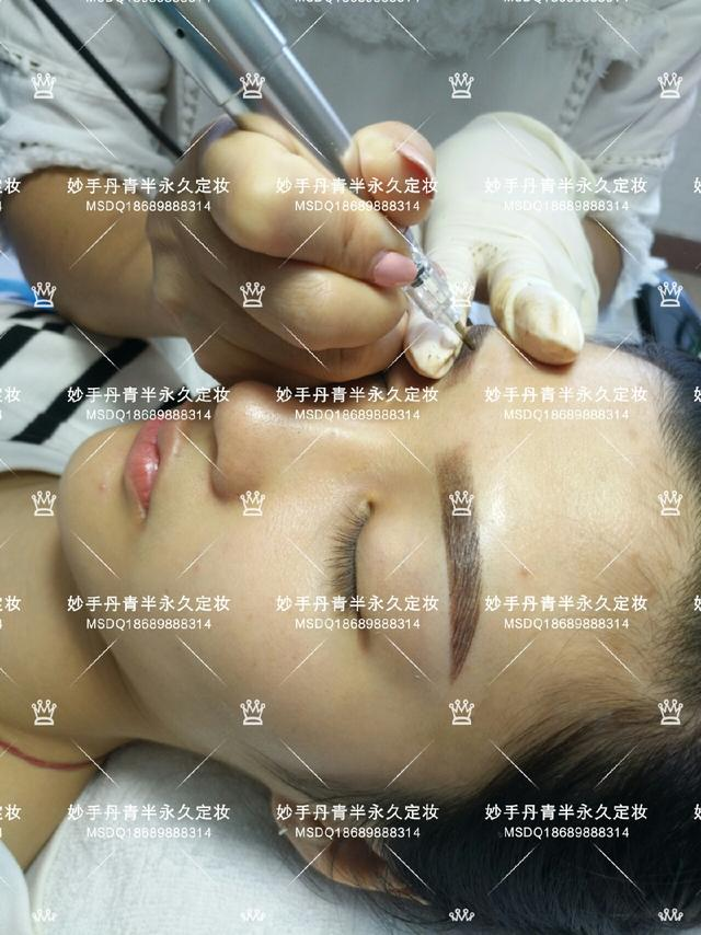 韩式半永久定妆开业宣传单海报设计图__广告... _昵图网nipic.com