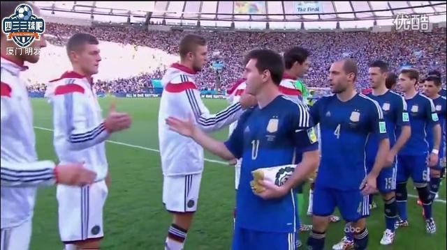 经典:2014年巴西世界比决赛阿根廷VS德国;梅西厄齐尔已不在!