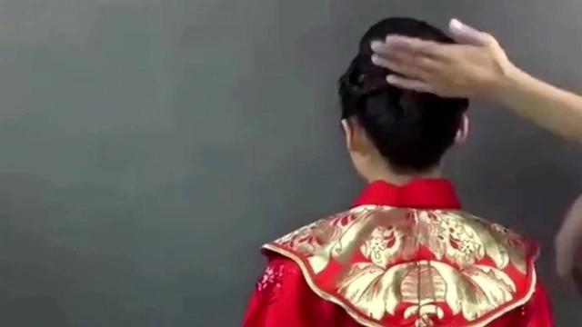 秀禾服新娘发型