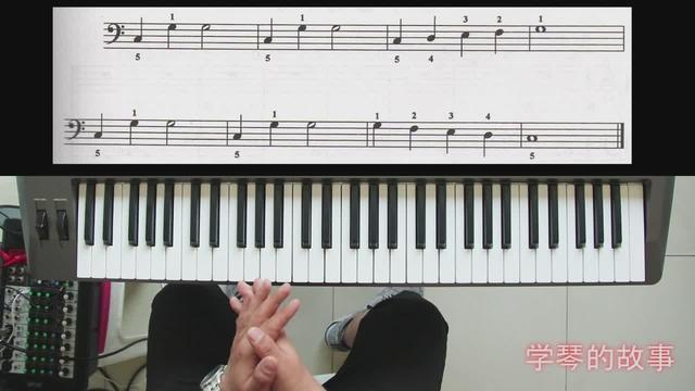电子琴视频教程 &电子琴左手指法