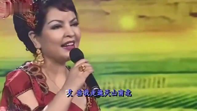新疆维吾尔族歌手图片