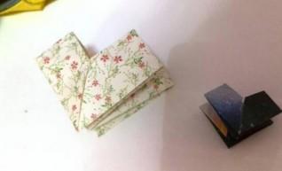 立体心形折纸方法视频