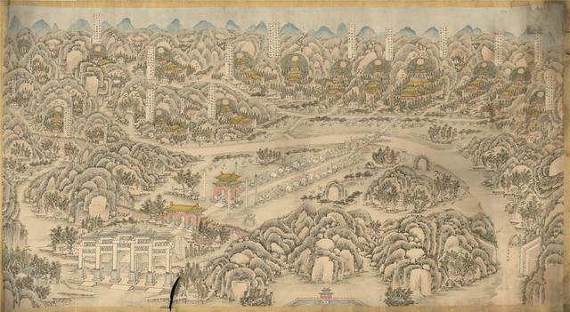 北京十三陵图片