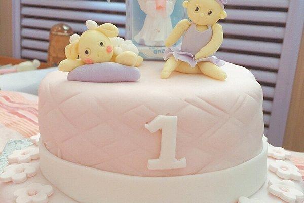 生日翻糖蛋糕