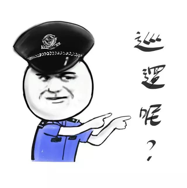 应景的警察蜀黍表情包-第一波~