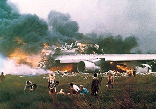 发生在台湾境内最惨重的航空事故,华航611航班空难