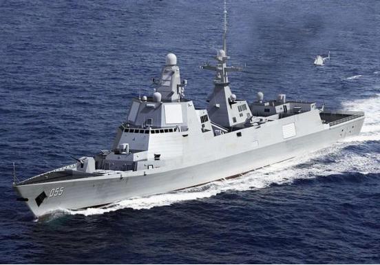 新型055型驱逐舰图片