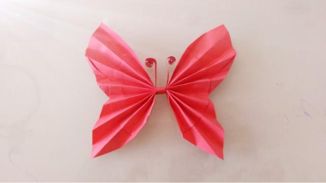 折紙教程立體蝴蝶