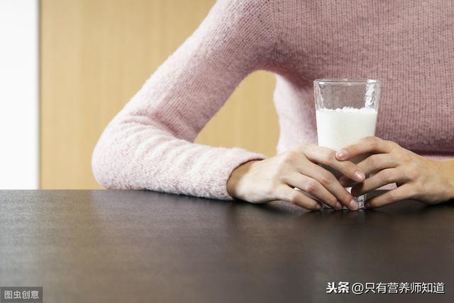 每天喝牛奶和不喝牛奶的人有什么区别?