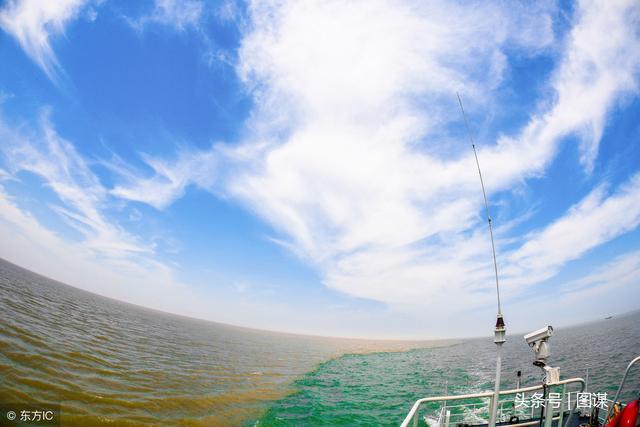 无人机航拍东营黄河入海口