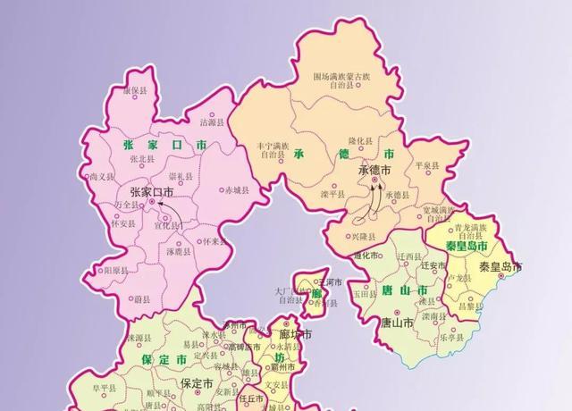 滦县城区地图