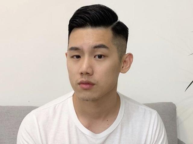 两边剃短发发型男