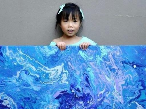 【4-5岁绘画作品】5岁丫头的画作小汇总!_千金诺一_新浪博客