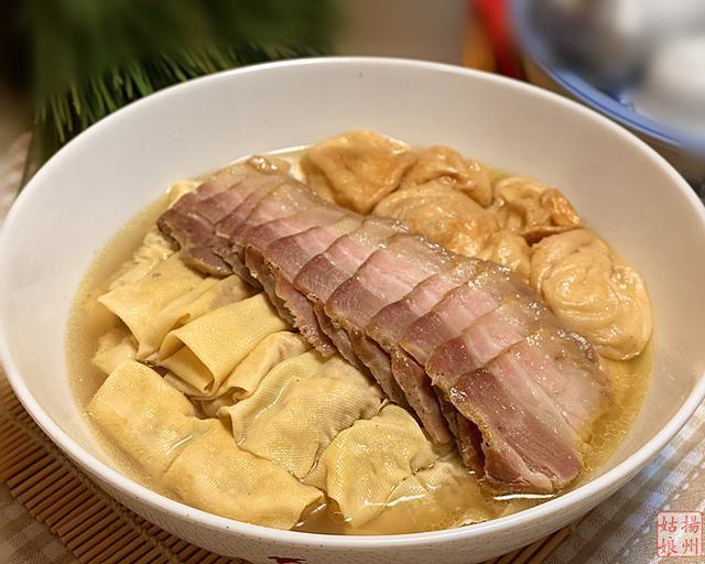 两筋一汤 - 一道江浙地区很传统的地方菜,一旦吃上就会爱上它