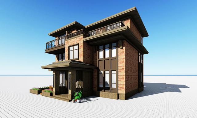 两层楼别墅