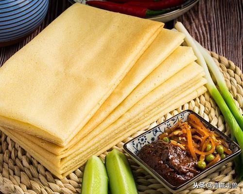 山东老式煎饼图片